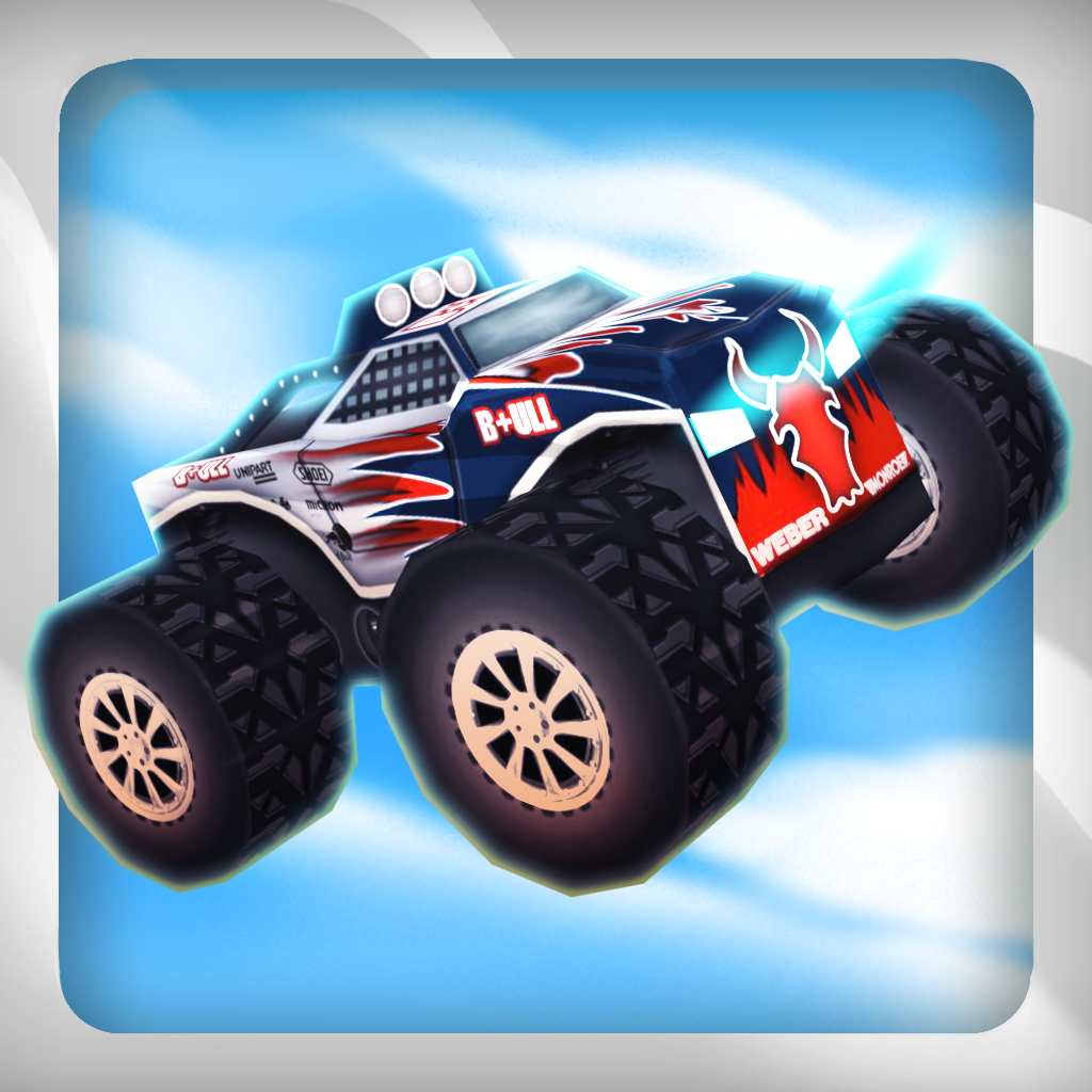 3D Monster Auto Trucks Race - Free HD Fast Speed Racing Game