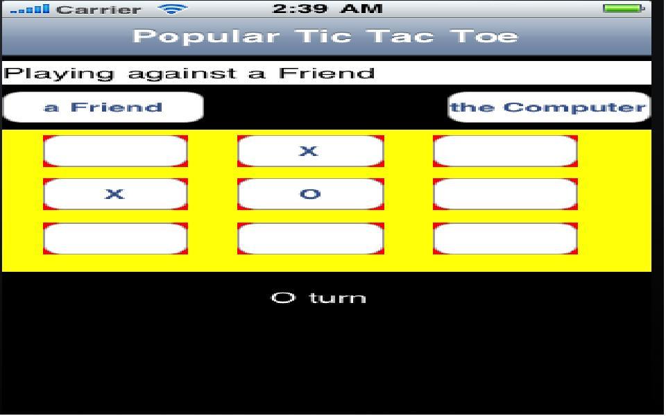 Screenshot Popular Tic Tac Toe